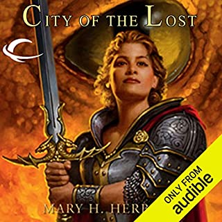 City of the Lost     Dragonlance: Linsha Trilogy, Book 1              By:                                                                                                                                 Mary H. Herbert                               Narrated by:                                                                                                                                 Hillary Huber                      Length: 9 hrs and 20 mins     25 ratings     Overall 4.8