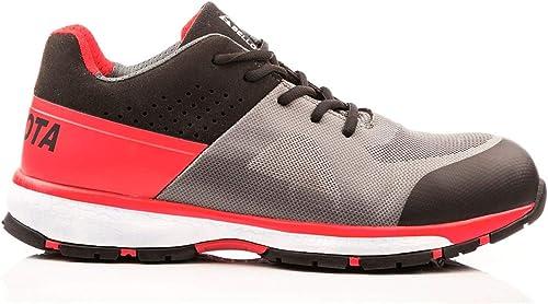 Bellota 72224NB42S1P Chaussures de sécurité, gris, gris, gris, Rouge, 42 ad0