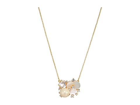 Kate Spade New York Disco Pansy Cluster Pendant Necklace