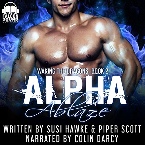 Alpha Ablaze audiobook cover art