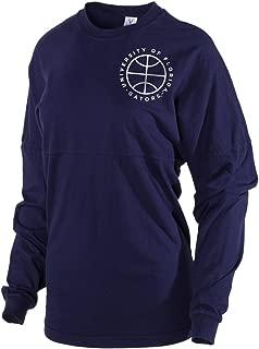 Official NCAA University of Florida Gators The Orange and Blue GATOR NATION! Spirit Wear Jersey T-Shirt