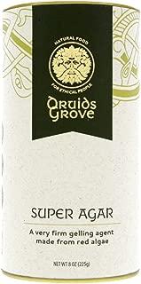 Druids Grove Super Agar ☮ Vegan ⊘ Non-GMO ❤ Gluten-Free ✡ OU Kosher Certified - 8 oz.