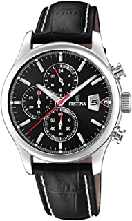 Festina F20375/3 Leather Analog Casual Watch for Men