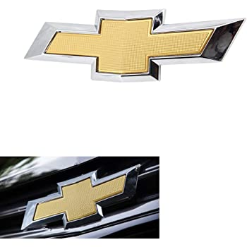 Front General Motors Genuine GM 12335901 Grille Emblem