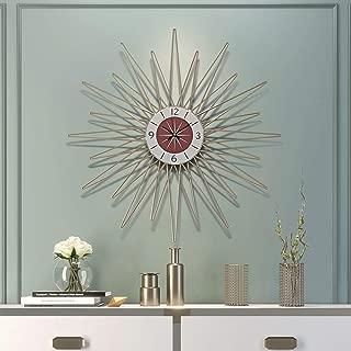 リビングルームのホームデコレーション時計クリエイティブ北欧スタイル時計ミュートぶら下げ高級現代の壁時計ビッグサイズのためのシンプルな柱時計 (Size : 73cm)