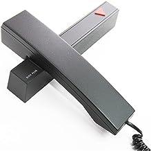 (カークプラス)KIRK PLUS デザイン電話機 シンプル デザイン子機 親機 留守番 おしゃれ電話機 北欧デザイナーの逸品 ブラック