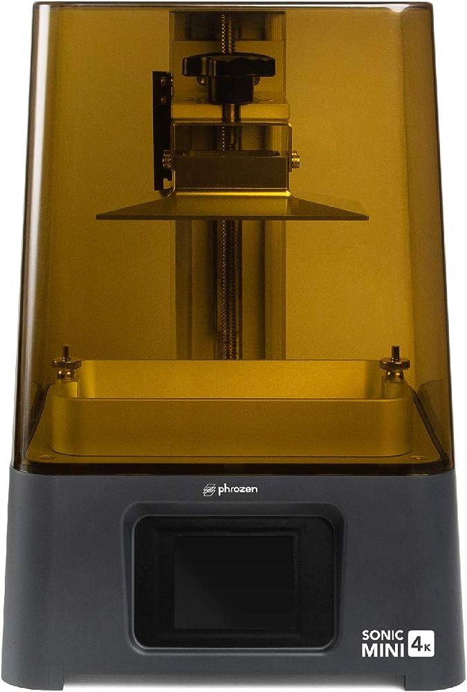 Phrozen sonic, mini stampante 3d a resina, 4k, fotoindurente uv, con lcd, 15,5 cm, monocromatica SOMIN4K00UK