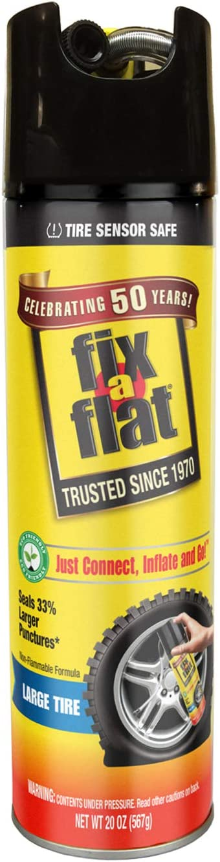 Fix-A-Flat Tire Sealant and Car/SUV Tire Inflator 20oz