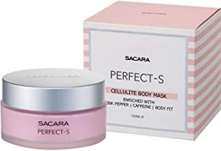 Sacara Perfect-S Cellulite Mask - Women's Cellulite Cream - Legs, Tummy and Booty Cellulite Treatment Cream with Hyaluroni...