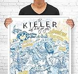Lieferlokal Stadtposter Kiel in limitierter Auflage -