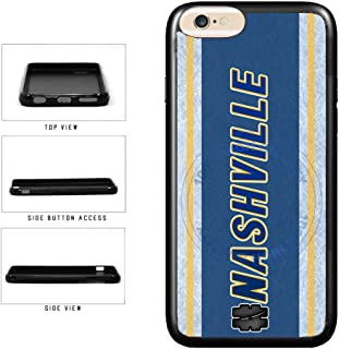 BleuReign(TM) Hockey Team Hashtag Nashville #Nashville TPU RUBBER SILICONE Phone Case Back Cover For Apple iPhone 6 6s (4.7 Inches Screen)