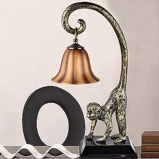 Lampe de Table Lampe Marron Salle d'étude Salon Chambre à Coucher Chambre à Coucher Personnalité Création Personnalité Art...