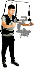 Brand New LAING V10 professional 3axis gimbal support vest stabilizer system/6-13KG bearing vest for electrical stabilizer D JI Ronin M/MOVI