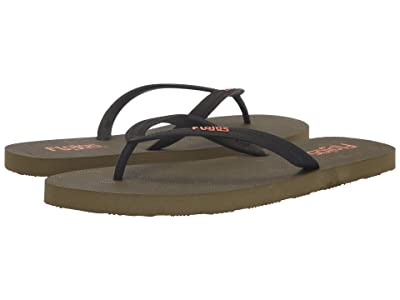 Flojos Nalu (Black/Olive) Men