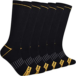 Men's Half Cushioned Crew Socks
