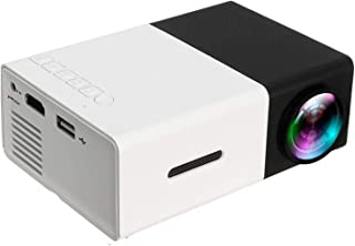 YG-300 Mini Portable Projector with USB,SD,AV,HDMI, Multicolor