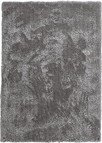 Tom Tailor Teppich handgetuftet grau Größe 65x135 cm