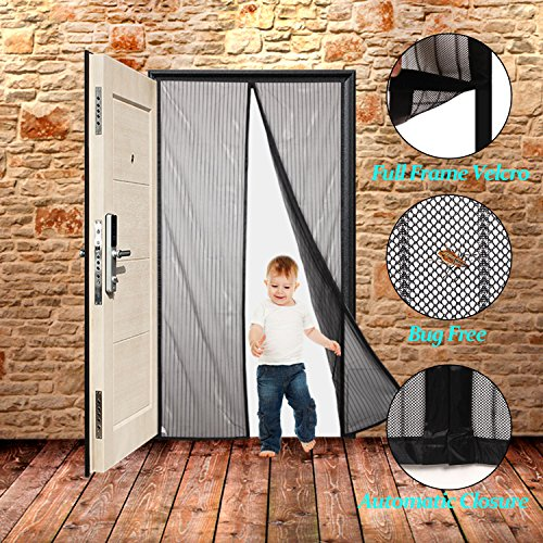 Finnhomy Magnetic Screen Door Hand Free Mesh...