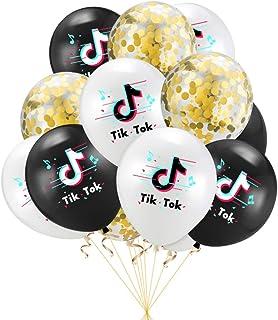 24X Tik Tok Music Note Balloons Theme Party Birthday Wedding Party Balloons Gift