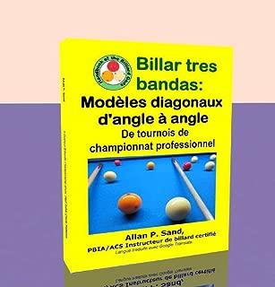Billar tres bandas - Modèles diagonaux d'angle à angle: De tournois de championnat professionnel (French Edition)