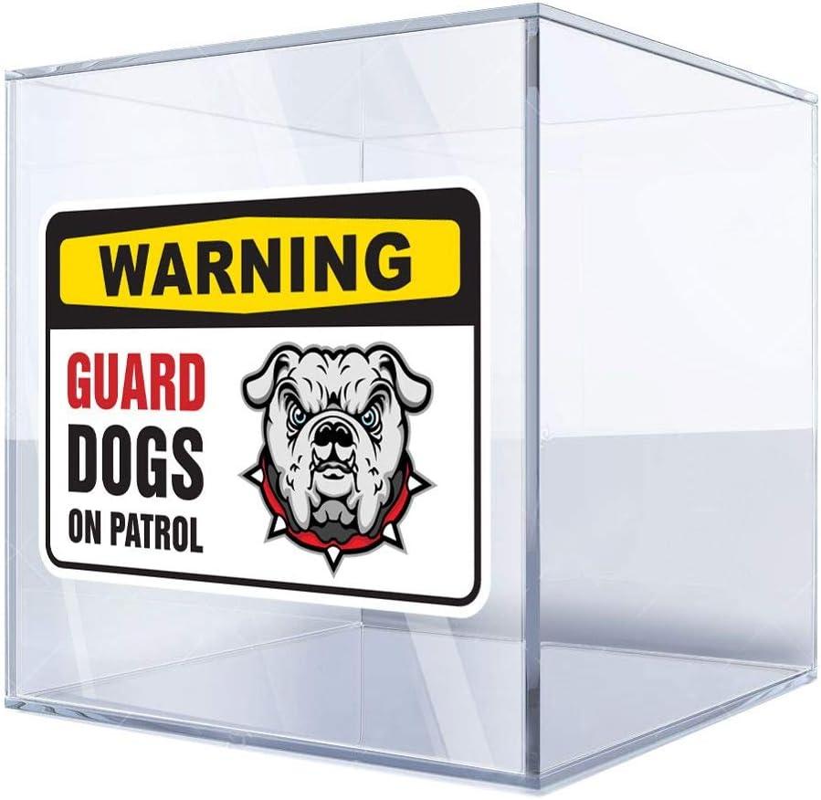 Sticker Decal Warning Guard Dog Same Ranking TOP4 day shipping On 15 Sign 22 X Bulldog Patrol
