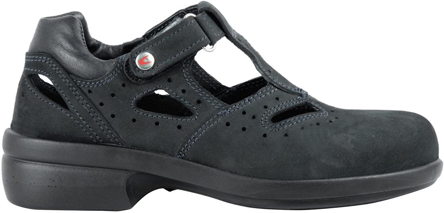 Cofra 84040-001.D41 Size 41 S1 SRC Frida  Safety shoes - Black
