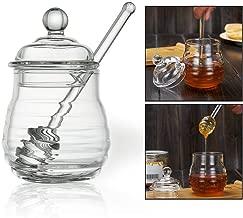 CADANIA Squeezable Botella Condimentos Envase Recipiente Tama/ño Dispensador Reutilizable De 400 g Capacidad de Miel para Salsa Salsa Miel Amarillo