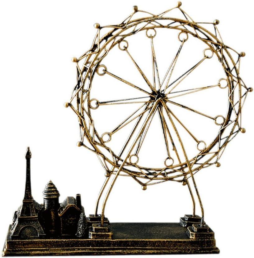 PANYFDD Fees free!! Wrought Iron Spinning The Model New sales Ferris Wheel Environmen