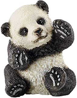 LULUD Children's Hand-Drawn Panda Cubs, Artificial Animal Models, Children's Zoo Toys, Collections