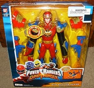 Power Rangers Dino Thunder Mega Battlized Talking Triassic Red Ranger