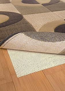 """Moretti Regrese Non-Slip Area Rug Pad 0002C Tan 1' 8"""" x 3' 4"""" Rectangle"""