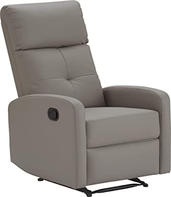 ClickDecor Henderson Recliner, Light Gray