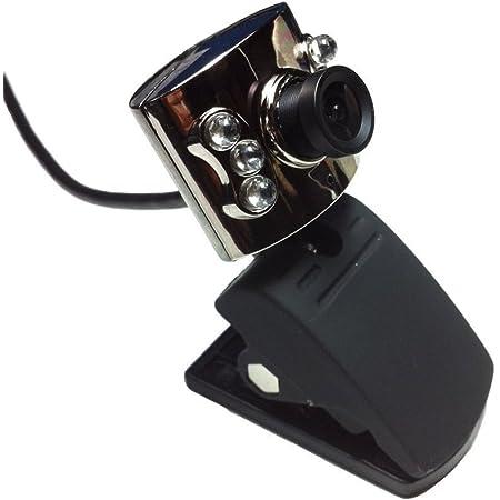 盗撮厳禁!映り過ぎ注意! 暗闇・夜間・暗所で大活躍! 赤外線ウェブカメラ 目に見えない赤外線の照射をとらえて夜間でも明るく撮影 夜間での野外撮影・暗所、暗闇での撮影に最適 監視・防犯カメラの用途にも USBで使えるてドライバも不要だから簡単に使える! webカメラ webcam webcamera aa000080a02 (ブラック)