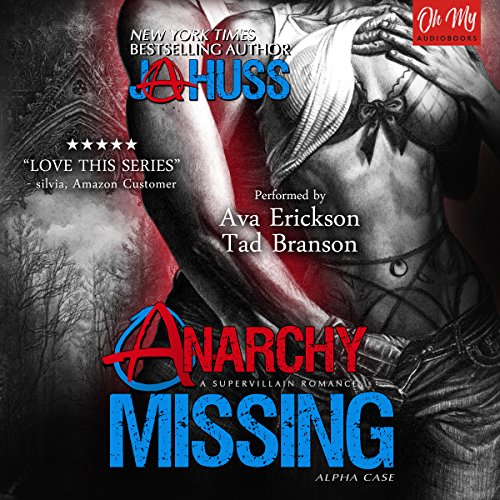 Anarchy Missing audiobook cover art