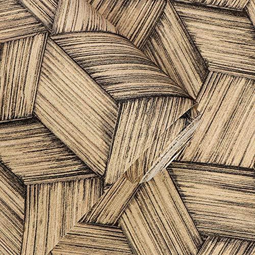 ACCEY Nuova carta da parati cinese Paglia Stuoia di bambù Tessitura di bambù Carta da parati giapponese Stile giapponese Casa da tè B&B Hotel Soggiorno Carta da parati Sfondo muroA2181