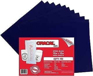 Best oracal 651 steel blue Reviews