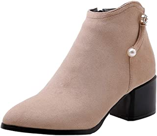 BalaMasa Womens ABS13959 Pu Boots