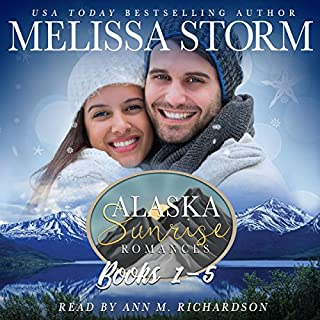 The Alaska Sunrise Romances, Books 1-5 cover art