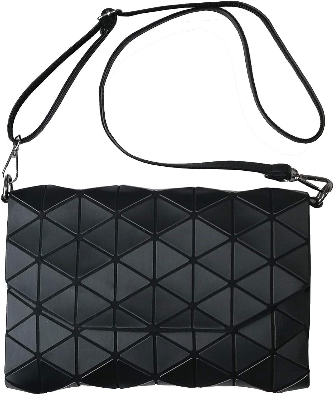 Geometric Handbags and Purses For WomenLuminous Tote Bag Flash Shard Lattice Style Totes Shoulder Bags