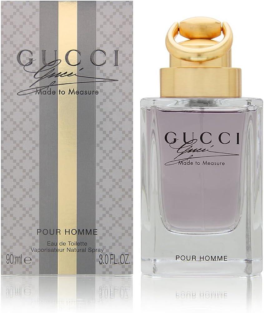 Gucci made to measure acqua profumata uomo 10005666