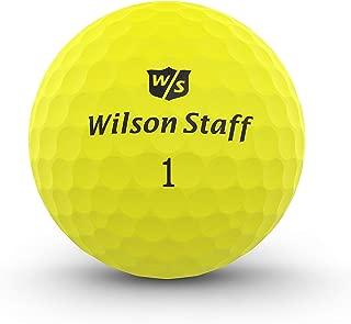 Wilson Staff Duo Soft Optix Matte Finish Distance Golf Balls - 3 Count Sleeve