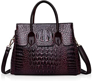 NICOLE & DORIS Woman Handbags Crocodile Top Handle Bags Luxurious Leather Shoulder Bag Fashion handbags PU leather Messeng...
