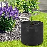 Bediffer Sac de Plantation en Tissu résistant à la Corrosion Non tissé Respirant pour planteur de Plantes pour la Croissance des Plantes(10 gallons (40D*30H))