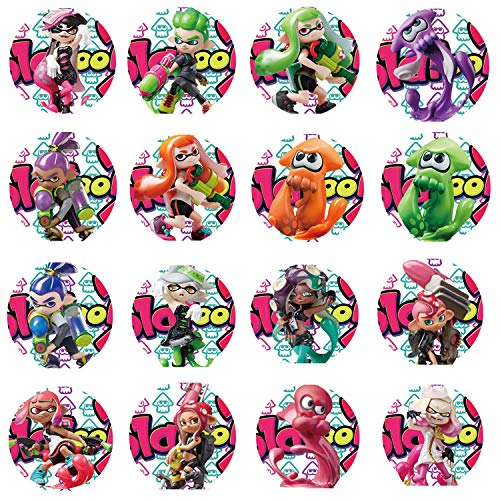 RAFA Store Cartes NFC amiibo pour Splatoon 2 Nintendo Switch 16pcs