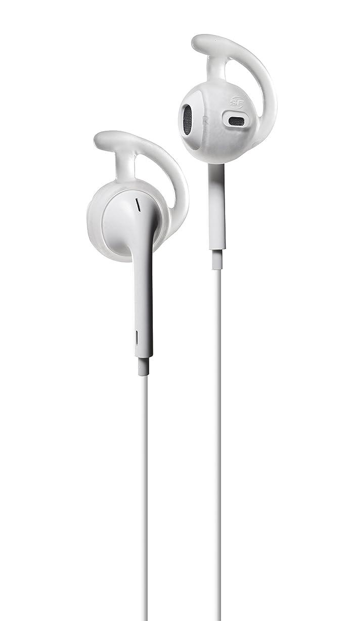 国勢調査プロット共産主義者シュアファイヤー SUREFIRE イヤーロック イヤホンロック iPhone、Apple EarPodsに 運動中などに最適 正規輸入品 (クリア)