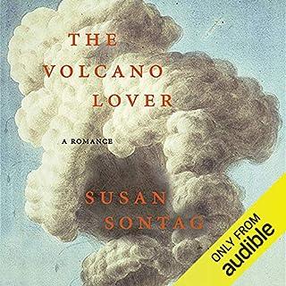 The Volcano Lover audiobook cover art