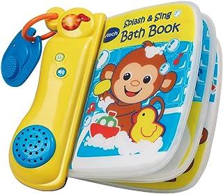 VTech 143703 Baby Splash and Sing Bath Book - Multi-Coloured, 143703