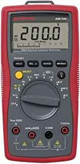 Amprobe Instruments AM-530 Digital Multimeter - 10 AC/DCA, 750 ACV, 1000 DCV True-RMS w/VolTect8482;