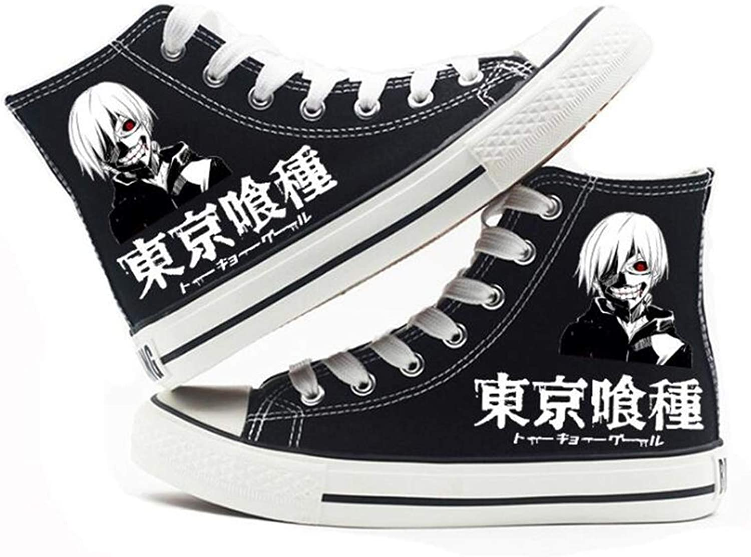 GO2COSY Anime Tokyo Ghoul Cosplay Kaneki Ken Sneakers Canvas shoes Womens' Size