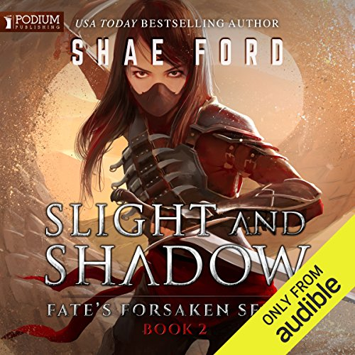 Slight and Shadow audiobook cover art